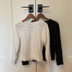 Set of 2 Everlane sweatshirts